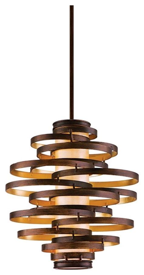 corbett vertigo medium pendant light contemporary