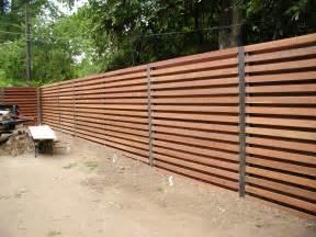 Horizontal Shadowbox Fence