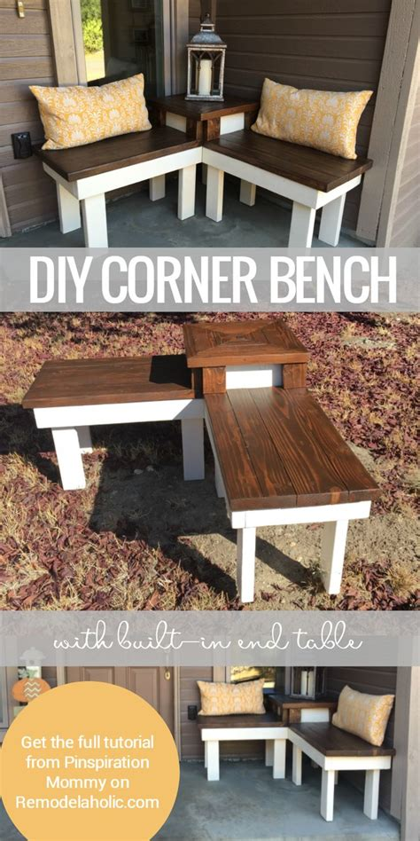 Patio Table With Bench Seating by 25 Best Ideas About Corner Bench On Corner