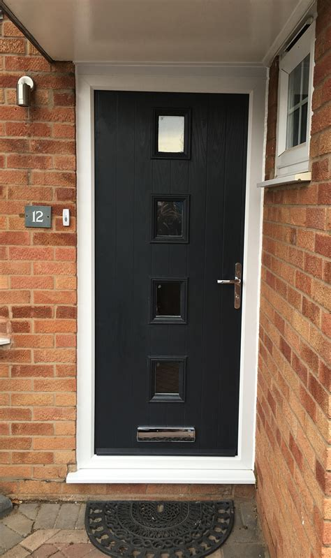 matching bedford side hinged  front door  anthracite grey elite gd