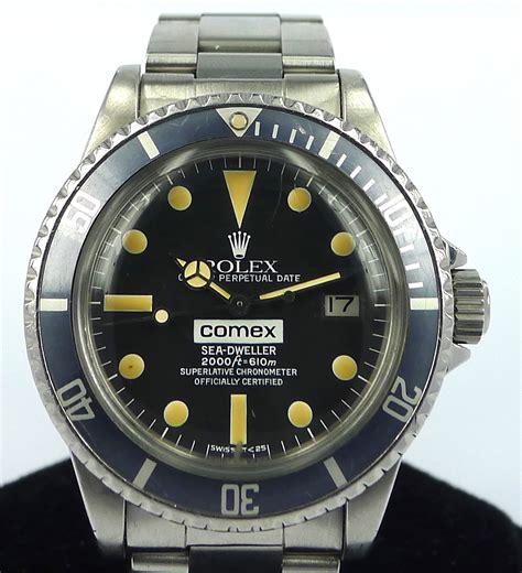 rolex sea dweller ref   comex dial gr luxury