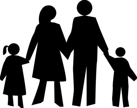 Transparent Silhouette Family