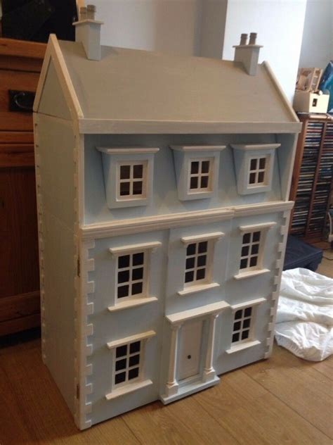 early learning centre wooden dolls house  furniture
