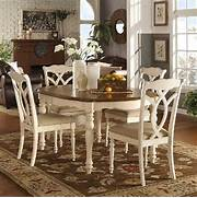 Farmhouse Dining Set 7pc French Country Kitchen Table Chairs Antique Vintage Style Cottages And Walmart On Pinterest Carolina Cottage Upholstered Chenille Oxford Club Apartment Living Room Decorating Ideas Wainscoting Garage Beach Style