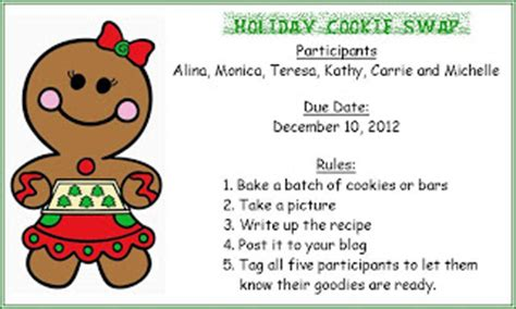 cookie exchange rules tip tap typing on the lunatic fringe