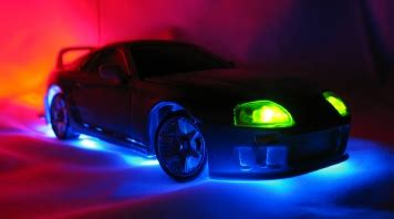 pimped out with led lights cars led and lights