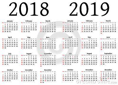 calendar stock illustration image