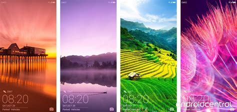 Android Lock Screen Huawei Wallpaper by Huawei Mate 10 Lock Screen Shows Pretty Colors 2 1