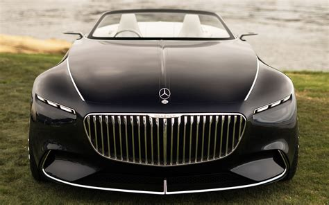 Vision Mercedes Maybach 6 Cabriolet Wallpaper