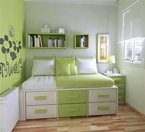 bedroom ideas for teens top teen girl small room green in With bed room decoration of girls