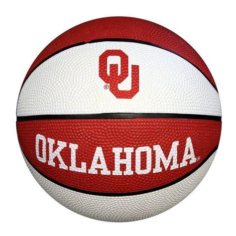 ncaa oklahoma sooners mini basketball   oklahoma