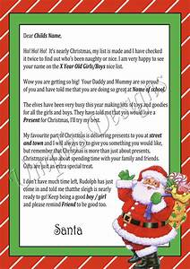 santa letters umples designs With receive a letter from santa in the mail