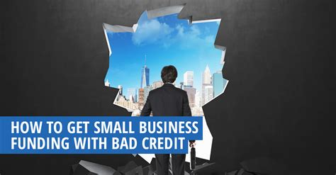 small business funding  bad credit