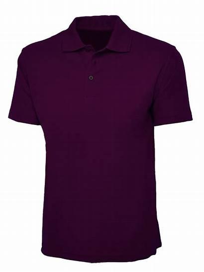 Violet Polo Navy Shirt Plain Garments Cutton