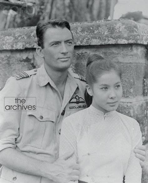 Gregory Peck And The Burmese Actress Win Min Than In
