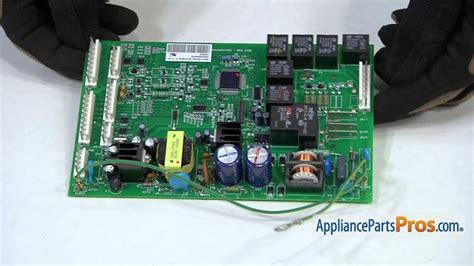 refrigerator main control board part wrx   replace youtube