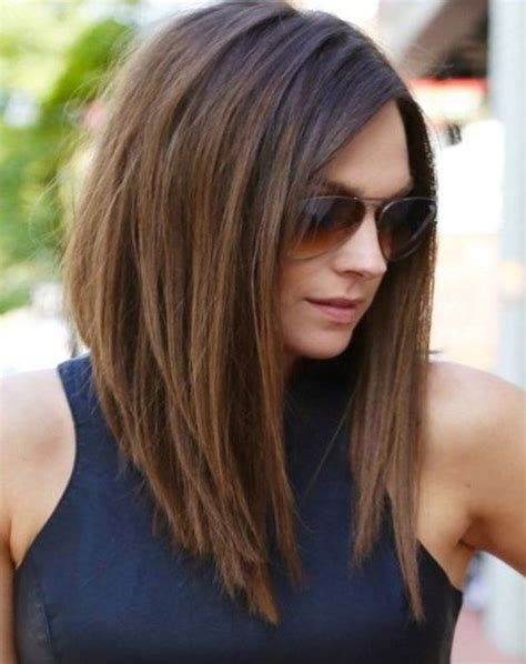 shoulder length hair style  face newhairstylesclub medium haircuts  fat faces medium