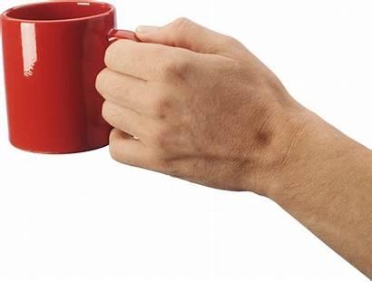 Hand Hands Holding Coffee Mug Clipart Transparent