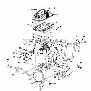Husky Parts Wl651999  Wl651999aj Air Compressor