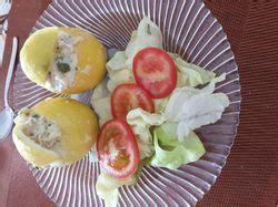 citrons farcis au thon recette de citrons farcis au thon