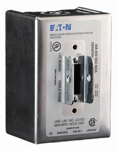 B230ag Eaton Manual Motor Switch 2 Pole 30 Amp