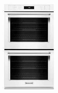 "KitchenAid 30"" Built-In Double Electric Convection Wall ..."