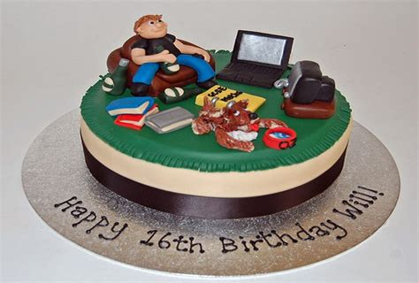 birthday cake ideas  teen boys marvelous cake