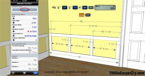 Laying Out Wainscoting With Buildcalc Thisiscarpentry