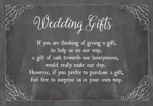 how to ask for money as a wedding gift how to ask for wedding gifts