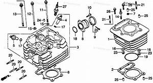 Honda Motorcycle 1980 Oem Parts Diagram For Cylinder