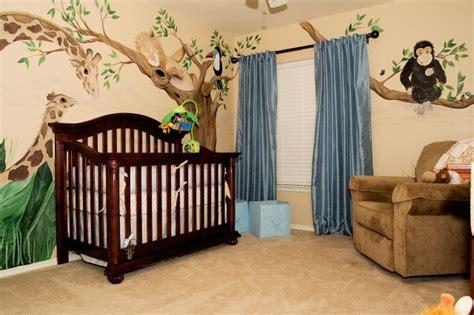 chambre theme jungle chambre de bébé idées de déco et meubles en 29 photos
