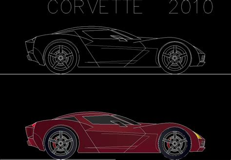 Cars F 2d Dwg Detail For Autocad • Designs Cad