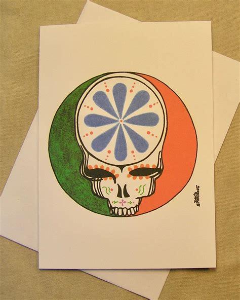 grateful dead  occasion greeting card  de los