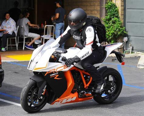 Bradley Copper Rides His 173 Hp Ktm Sports Bike After A