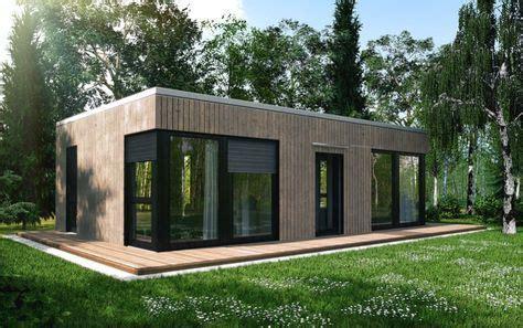 Bungalow Fertighaus Günstig by Ecohome42 Portfolio Massivholz Bungalow L40 Haus In 2019