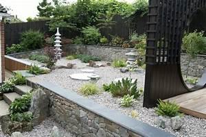 Idée Jardin Zen : d co jardin zen contemporain 47 id es inspirantes pour vous aider ~ Dallasstarsshop.com Idées de Décoration