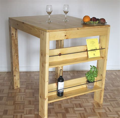 fabriquer une table de comment faire une table haute ep02 bricolage maison
