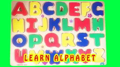 Learn Abc Alphabet Letters Colors Fun Puzzle Toy Learning