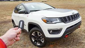 2018 Jeep Compass Trailhawk  Start Up  Walkaround  Test Drive And Review