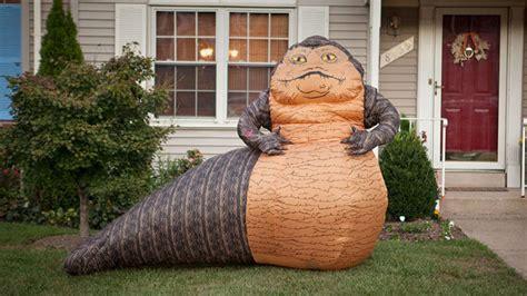 inflatable star wars jabba  hutt lawn ornament