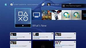 PlayStation 4 User Interface In Depth Walkthrough And ...