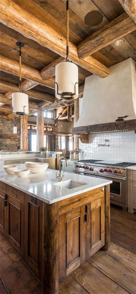 log cabin kitchen designs best 25 rustic cabin kitchens ideas on log 7150