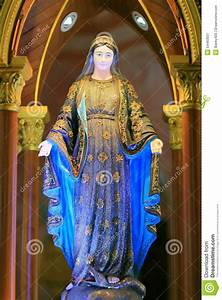 Blessed Virgin Mary stock image. Image of immaculate ...