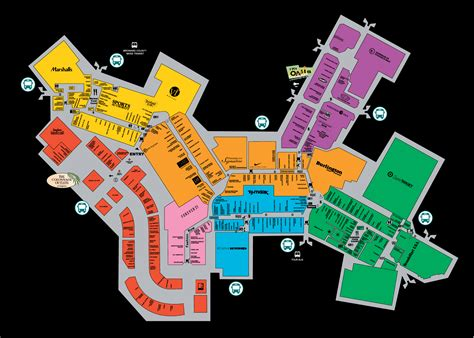mall map  sawgrass mills  simon mall located
