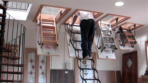 wooden folding attic murphy larkin attic stairs attic ladders