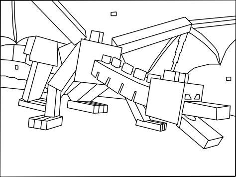 Minecraft Kleurplaat Enderdragon by Minecraft Ender Kleurplaten