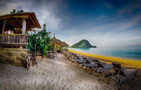 foto pantai kuta lombok tempat wisata foto gambar