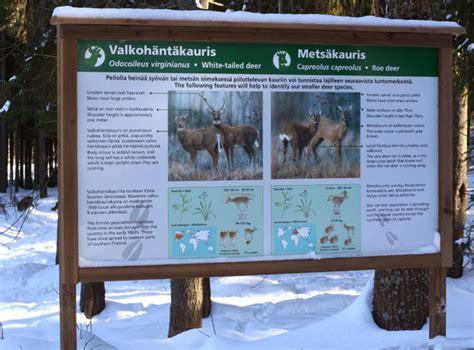 wildlifeart information boards  aehtaeri zoo
