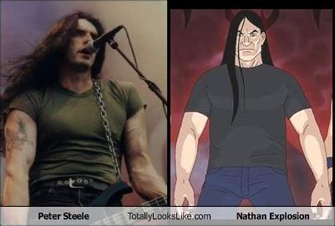 Nathan Explosion Memes - peter steele totally looks like nathan explosion memebase funny memes