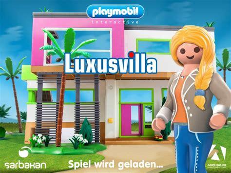 Playmobil Luxusvilla  Gratis Kinderspiel App Für Ios